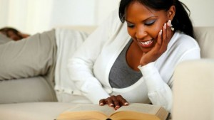 black-woman-reading-book