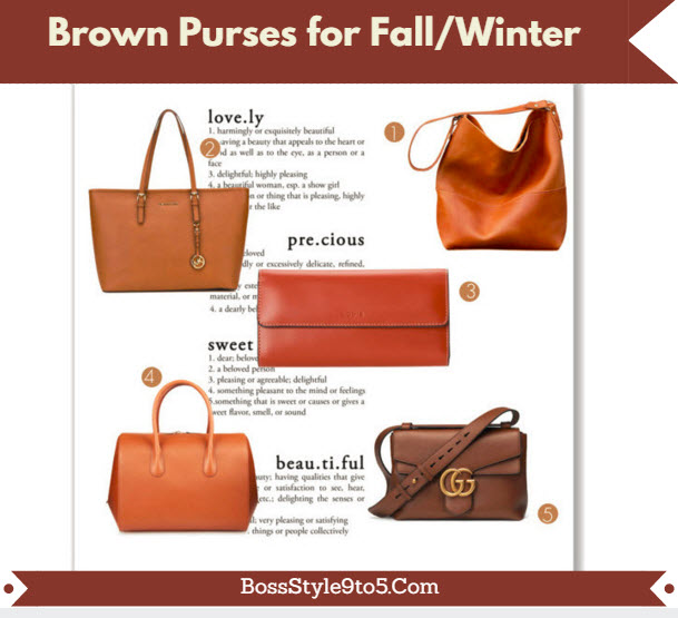 BrownPursesforFallWinter