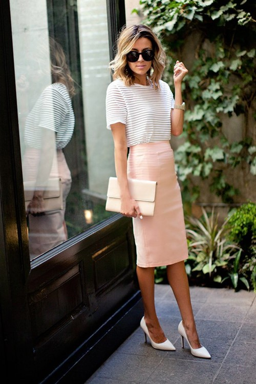 10 summer outfits that you can wear at work (7)