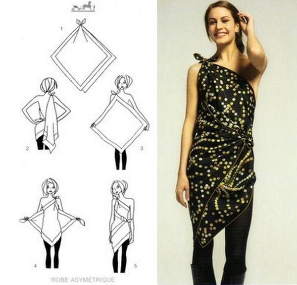 18-18-impressive-ways-to-style-a-scarf-as-a-top-skirt-or-dress-www.fashioncorner.net_
