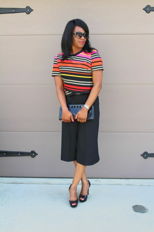 Work Wear Wednesday Stripes Amp Culottes Boss Style 9 To 5